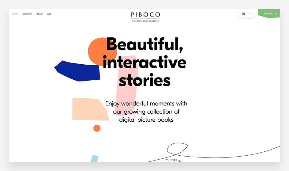 Piboco small business website example