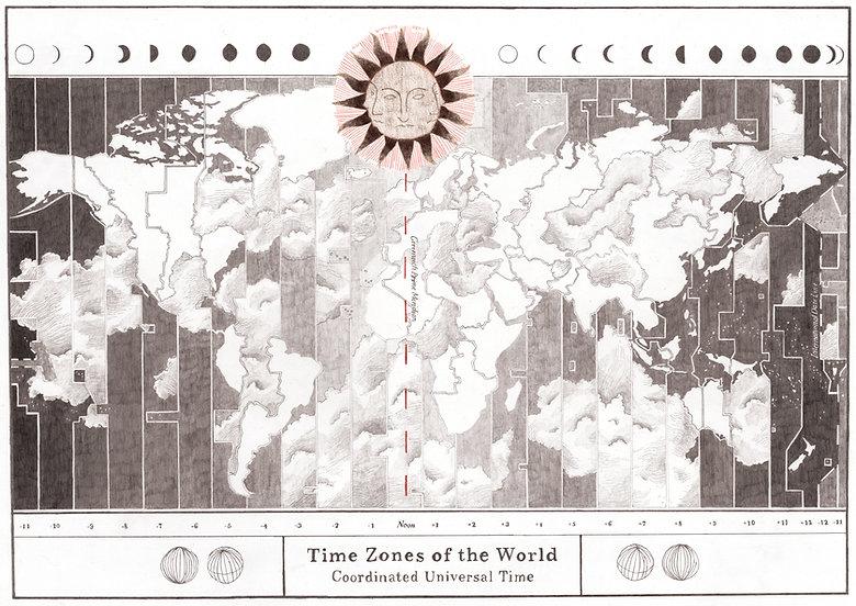 Time Zones of the World, Eden Spivak