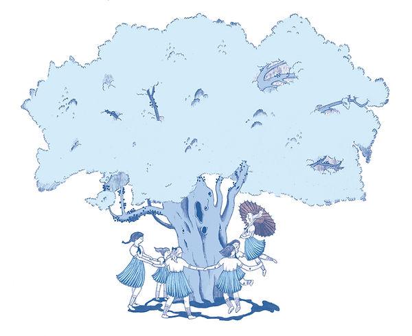 Eden Spivak sycamore tree illustration