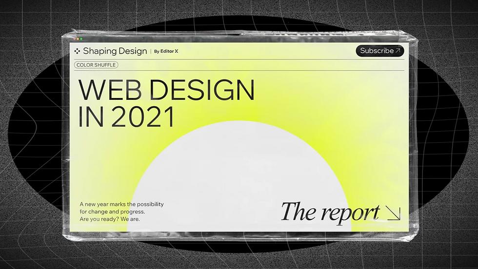 A website screenshot on a grid background