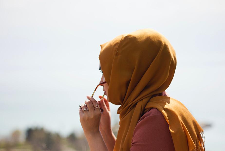 A Photo of Muslim woman wearing a Hijab.