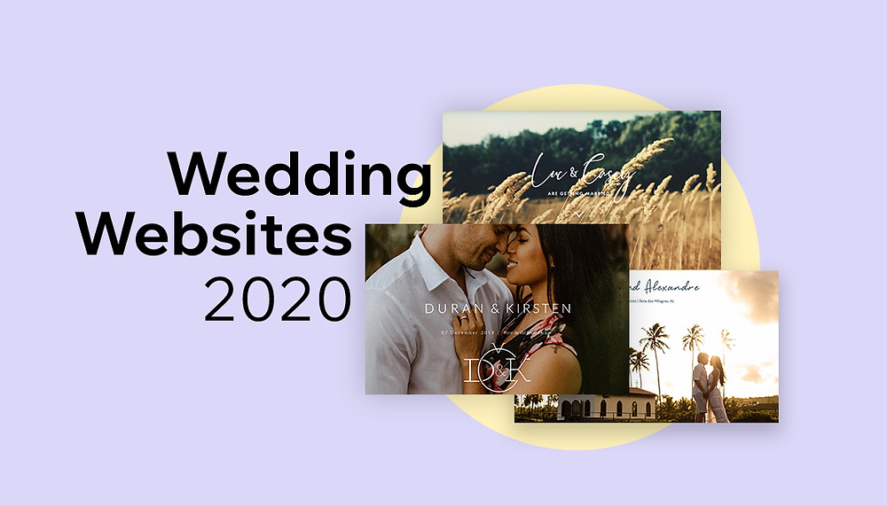 Wedding websites examples 2020