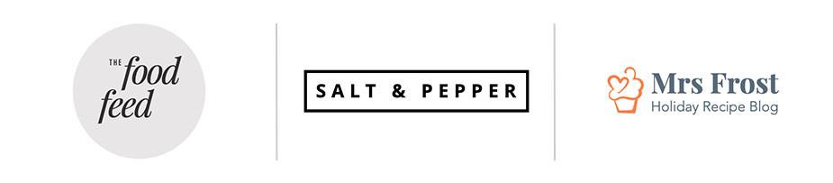 Blog logos: food blogs