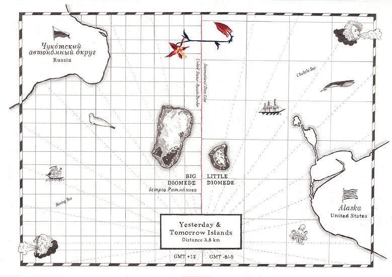 Diomede Islands, Eden Spivk