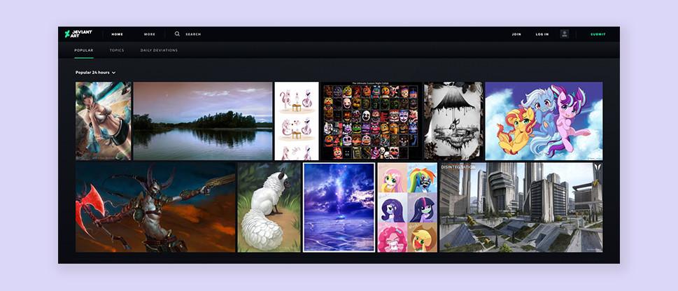 DeviantART sell art online
