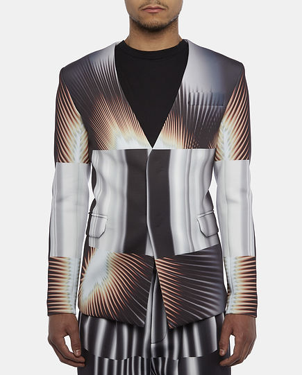 kay kwok fashion menswear london young designer print fashion