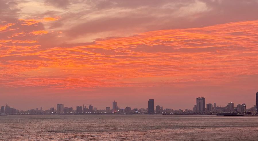 Sunset over Salmiya