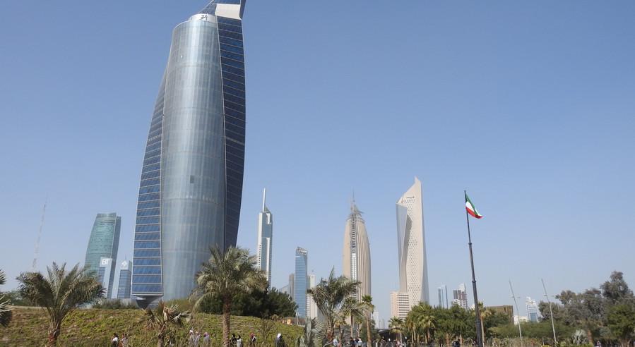 City view from Al Shaheed Park