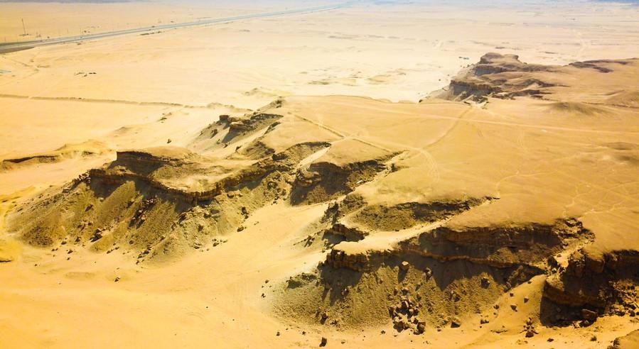 Mutla Desert Cliffs