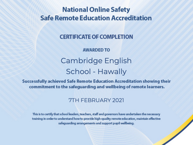 Safety Award!