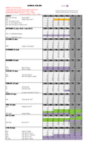 Kuwait School Calendar