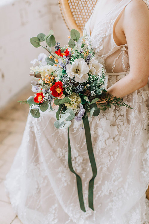 Artificial Wildflower Bouquet