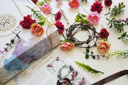 Pink flower crown Kit