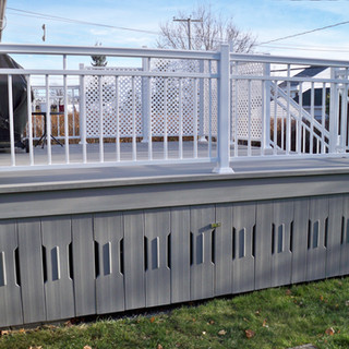 Walls signed Balco Tech to hide the underside of your balcony