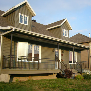 Banisters, railings and columns available with several Balco Tech suppliers