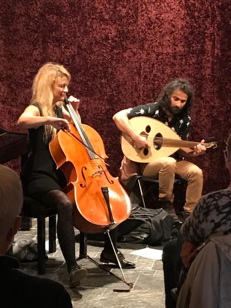 Huiskamerconcert Hussein Rassim & Juliette Lacroix