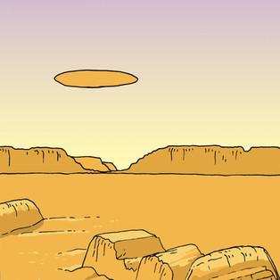 Illustration + one-page comics