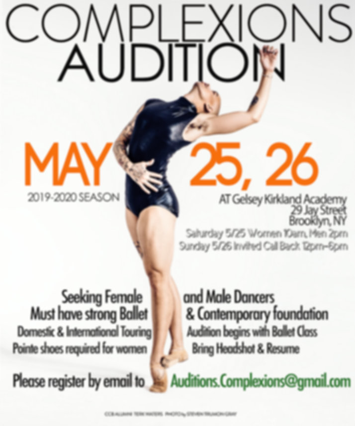 AUDITION 2019