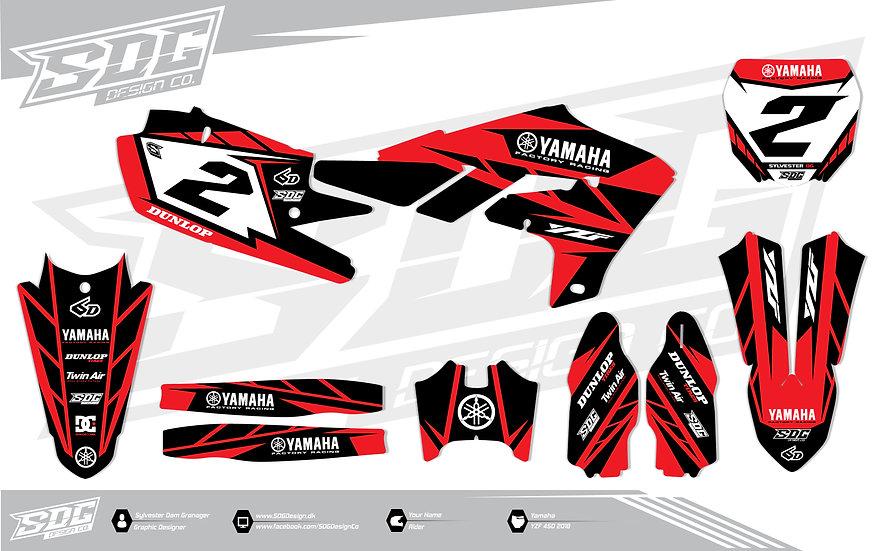 Yamaha - Stock - Black/Red