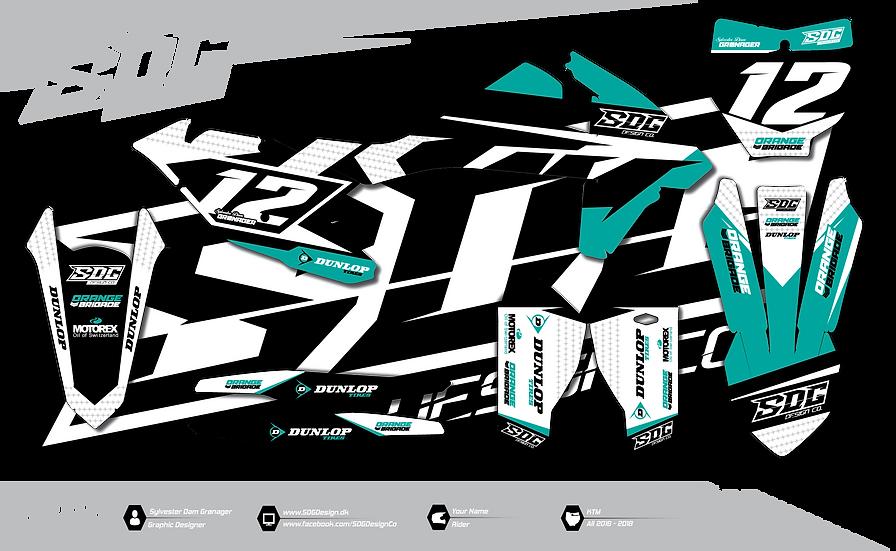 KTM - Stock Turquoise