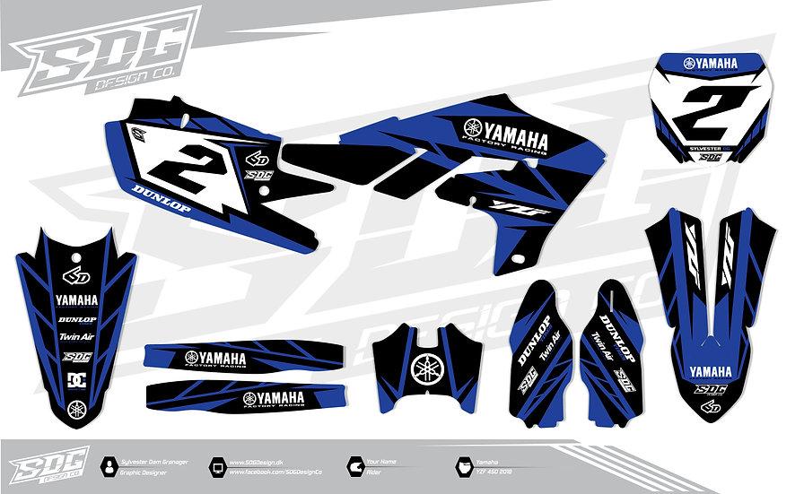 Yamaha - Stock - Black/Blue