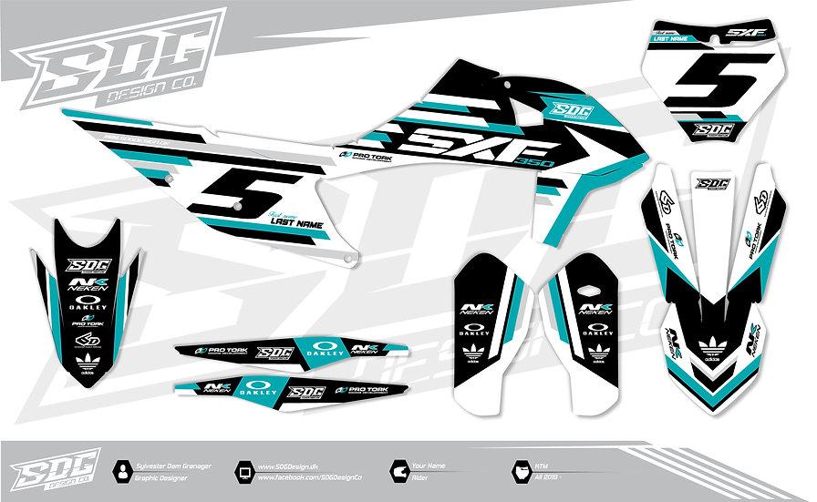 KTM - 'Streamline' - Turquoise