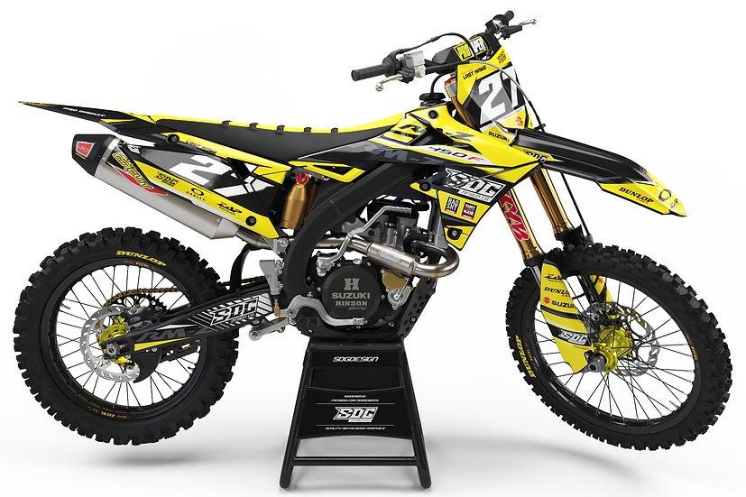 Suzuki - SDG Design - Black/Yellow
