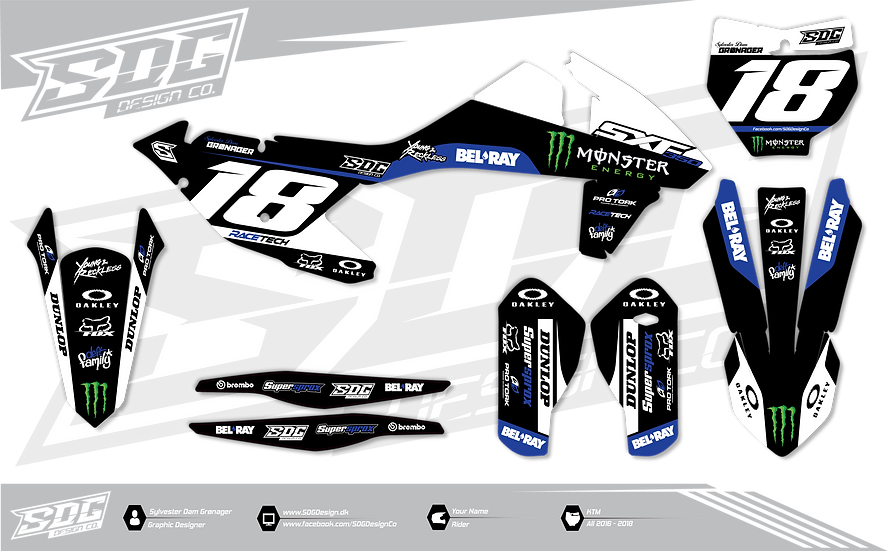 KTM - Monster Energy / Bel Ray - Black