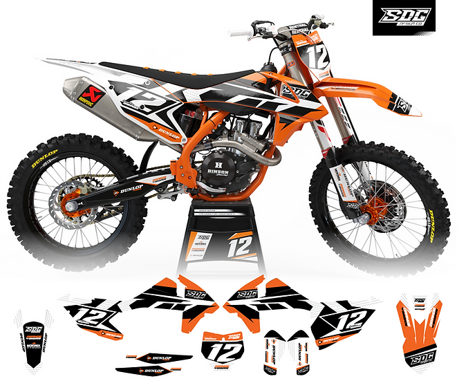 KTM - Stock Orange