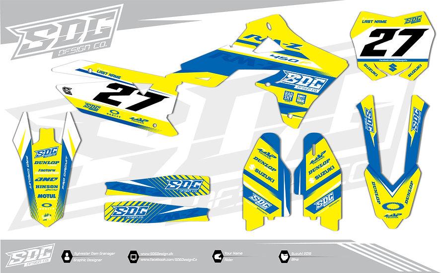 Suzuki - SDG Design - Yellow