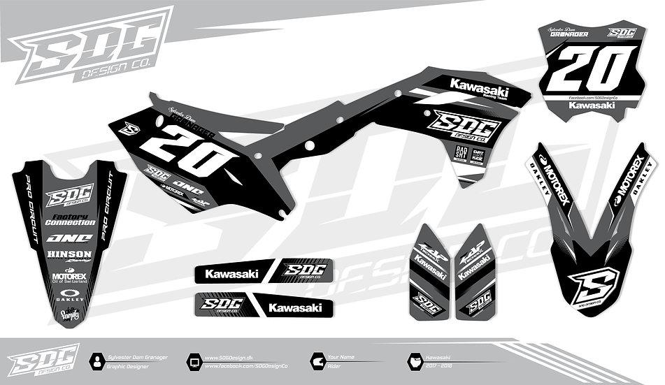 Kawasaki - SDG Design 1 - Grey / Black