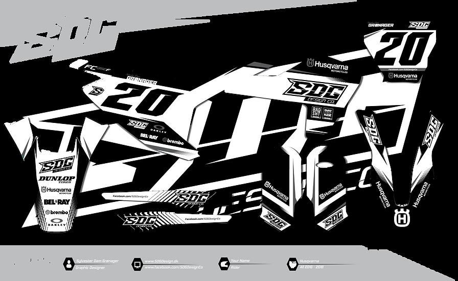 Husqvarna - SDG Design 1 - Black / Grey