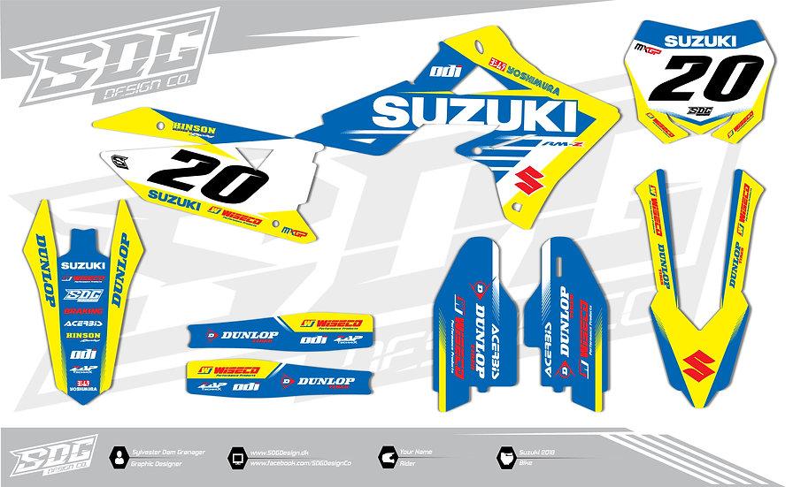 Suzuki - Team RCH - Yellow/Blue