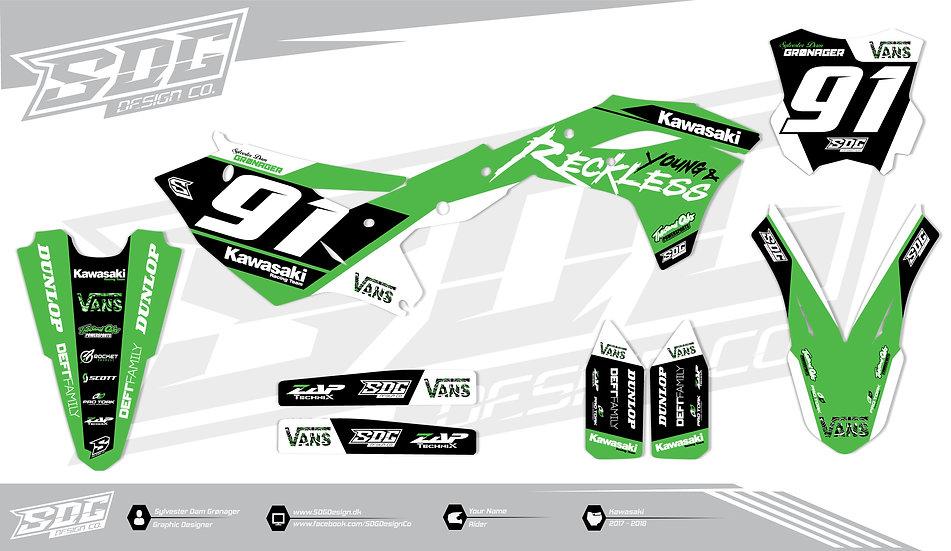 Kawasaki - Y&R - Green