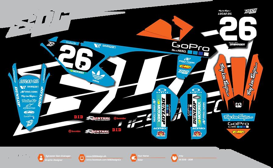 KTM - 2018 Team TLD Edition