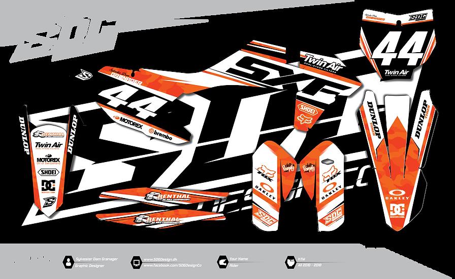 KTM - Camo - Orange