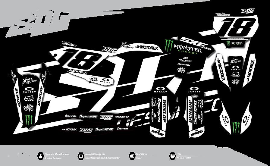 KTM - Monster Energy - Black