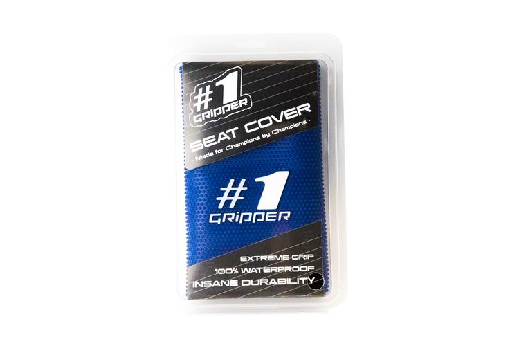 Seat Cover - One Gripper Blue ( Yamaha / Suzuki / Sherco )