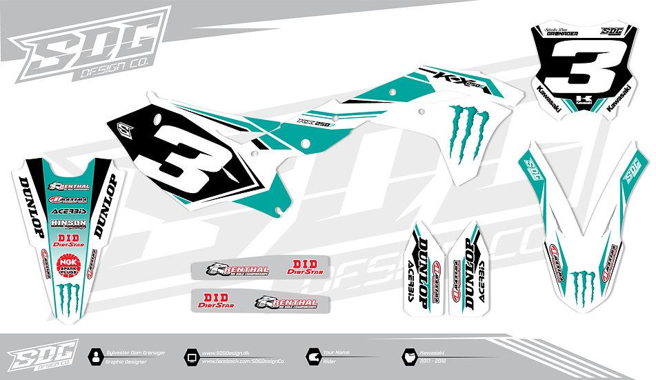 Kawasaki - Factory Racing Team - Turquoise