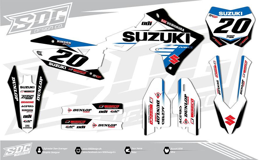 Suzuki - Team RCH - White/Blue