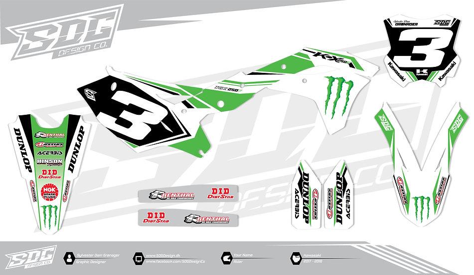 Kawasaki - Factory Racing Team - White / Green