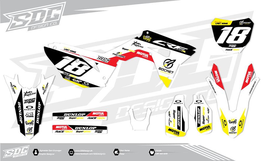 Honda - Rocket White/Yellow