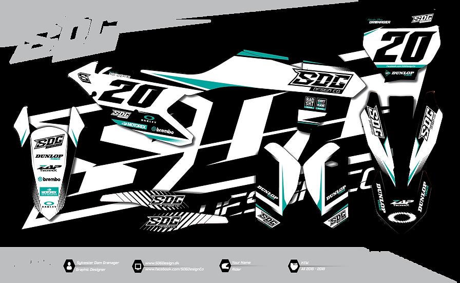 KTM - SDG Design - Turquoise