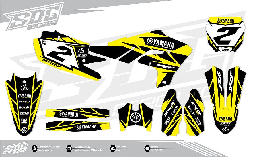 Yamaha - Stock - Black/Yellow