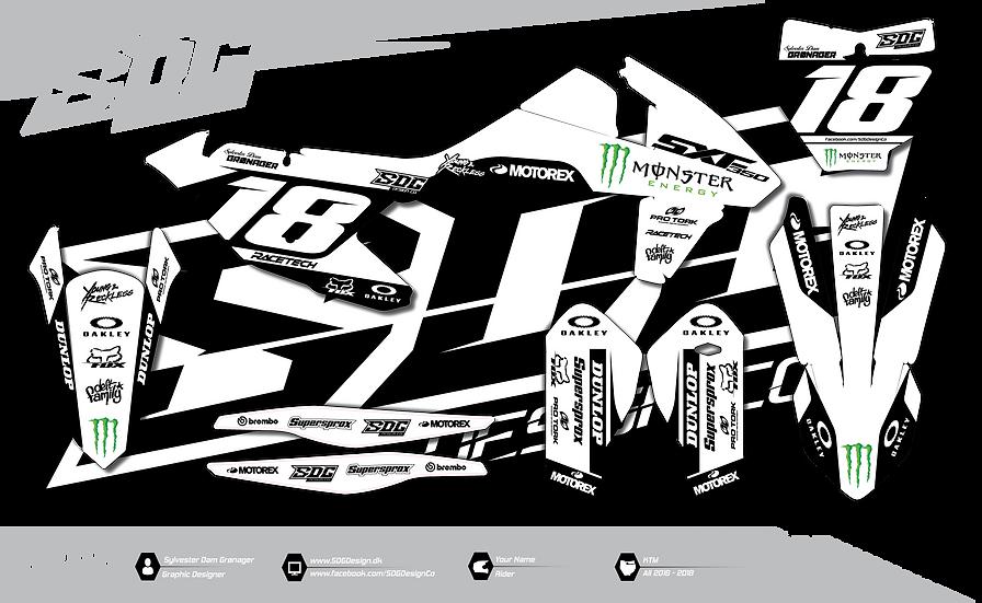 KTM - Monster Energy - White