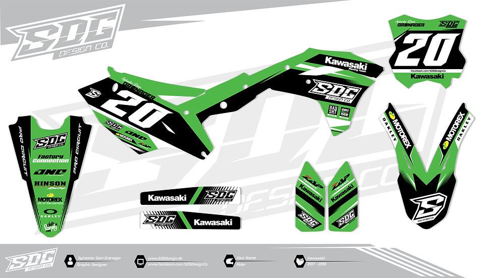 Kawasaki - SDG Design 1 Green - Black