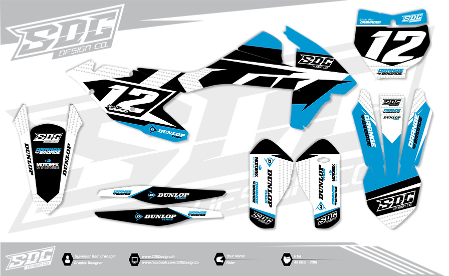 KTM - Stock Blue