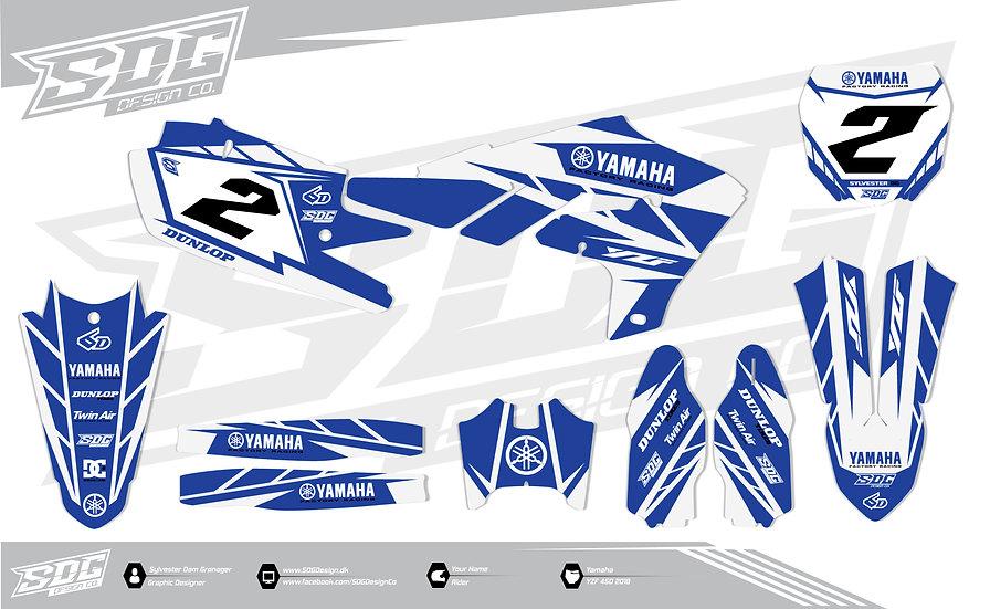 Yamaha - Stock - White/Blue