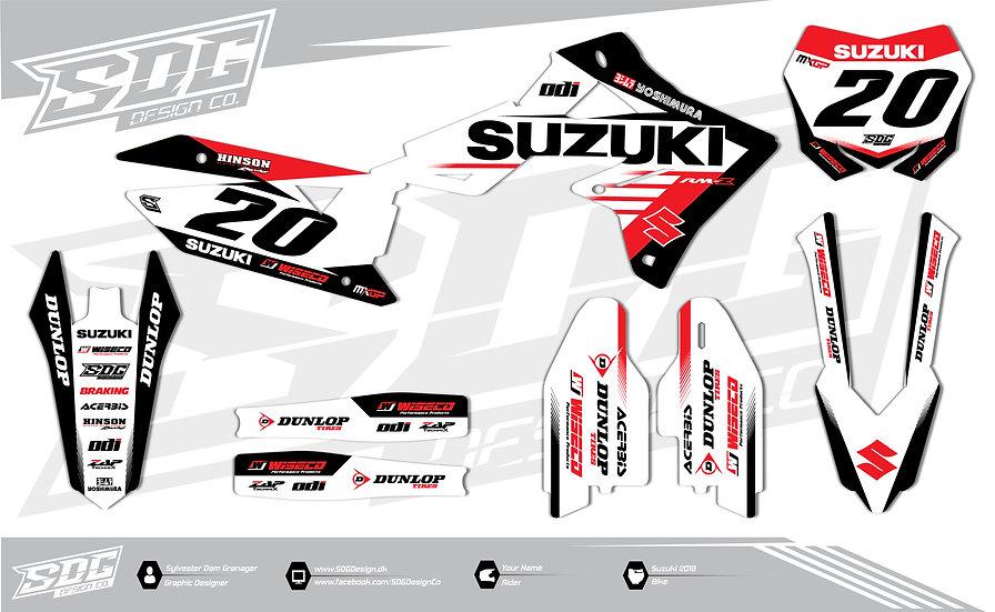 Suzuki - Team RCH - Red