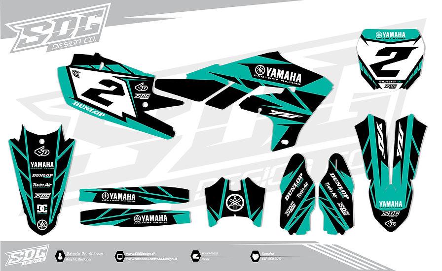 Yamaha - Stock - Black/Turquoise
